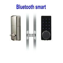 Cerraduras inteligentes cerraduras Electrónicas de control remoto del teléfono móvil Bluetooth contraseña cerraduras Home Hotel Apartamento bloqueo L43