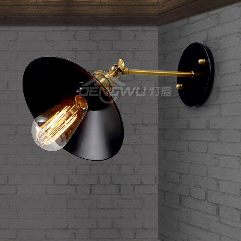 house retro industrial loft bedroom bedside lamp modern minimalist stairways outdoor wrought iron balcony wall lamp