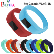Soft silicone Replacement watchbands for child Wrist Strap For Garmin Vivofit JR Bracelet Sport Strap L/S Size Wristband band цены онлайн