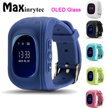Maxinrytec Q50 GPS Smart Kids smart Watch GPS SOS Call Location Finder Locator Tracker Anti Lost OLED Screen(China)