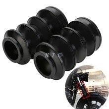 39 мм резиновая вилка крышка гетры гаторы сапоги для Harley Sportster Dyna FX XL 883