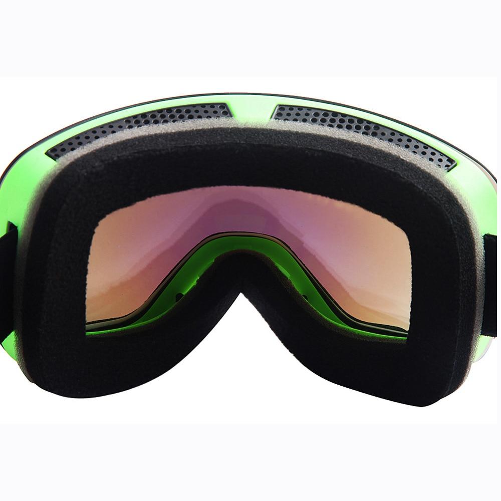 Wolfbike lunettes de Ski Gafas Ciclismo Sport lunettes de soleil hommes femmes Sport vélo lunettes moto Motocross Ski haut Transparent - 6