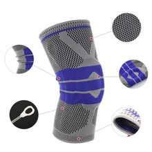 TSAI Full Knee Protector Autumn Winter Full Season Elastic Breathable Knee Pads Relief Prevent Sports Knee Support Brace S-XL pro designed mini ramp knee xl knee pads