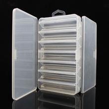 1 шт двухсторонняя деревянная коробка для рыболовных снастей