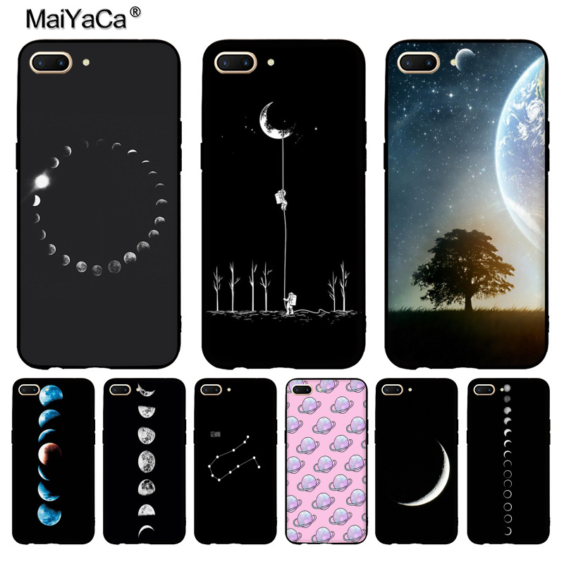 Phone Bags & Cases Dutiful Maiyaca Fashion Space Eclipse Of The Moon Soft Tpu Phone Case Cover For Vivo X20plus X9s Case Coque For Oppo R11 R9 Plus Case Do You Want To Buy Some Chinese Native Produce? Half-wrapped Case