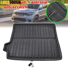 For Jeep Grand Cherokee WK2 2011   2019 Car Rear Trunk Liner Cargo Boot Mat Floor Tray Protector Carpet 2012 2013 2014 2015 2016
