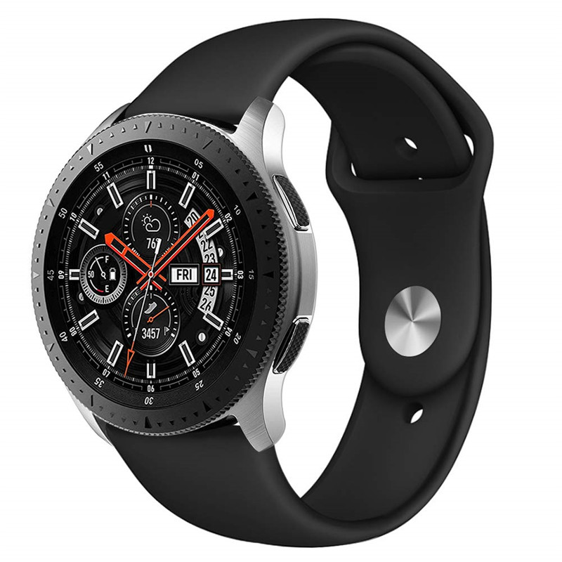 Sport Band Galaxy Watch 46mm Soft Silicone Strap Wristband For Samsung Gear S3 Frontier Classic Smart Fitness Watch 22mm Bands