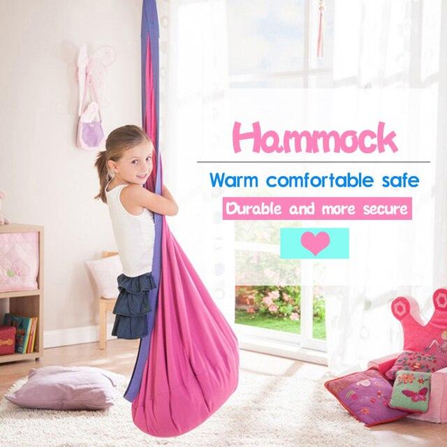 Creative Children Hammock Garden Furniture Swing Chair Indoor Outdoor Hanging Seat Child Swing Seat Patio Portable Furniture