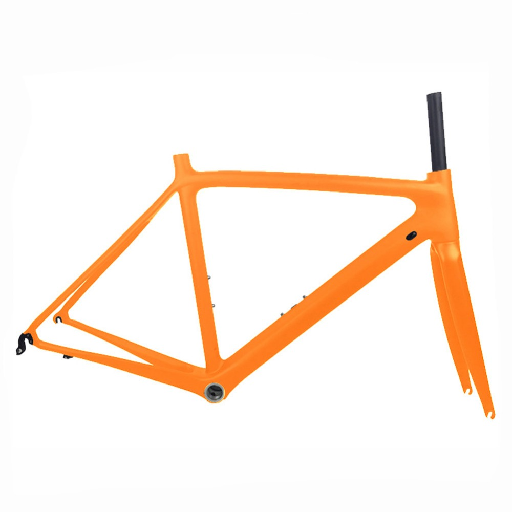 New 2017 Hot Sale Full Carbon Road Bike Frame Super light Racing Road Bicycle Frameset With Fork and Headset Size 50/53/55cm
