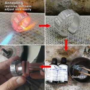 Image 5 - 999 мужское кольцо с гравировкой слов из чистого серебра, высококачественное мужское байкерское кольцо в стиле панк рок 9Y018