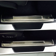 Stainless Steel Inner Door Sills Scuff Plate For LEXUS RX 2016 Car Decoration Accessories