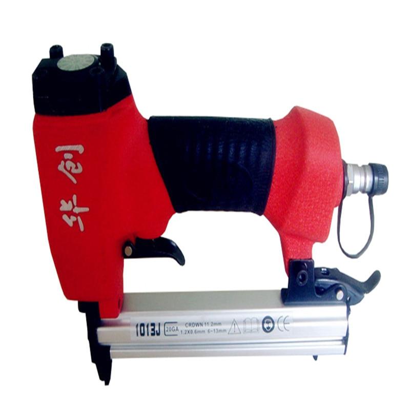 ФОТО Free Shipping air nailer gun code nails gun pneumatic tools air tools nail gun 1013J