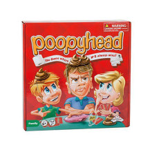 Poopyhead Puzzle Board Game Family Party Friends Where Number 2 Always Wins Best Children English Version Toys Gift