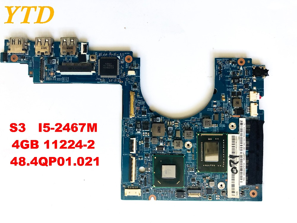 Original for ACER S3 391 951 laptop motherboard S3-391 S3-951 I5-2467M  4GB 11224-2  48.4QP01.021tested good free shipping Original for ACER S3 391 951 laptop motherboard S3-391 S3-951 I5-2467M  4GB 11224-2  48.4QP01.021tested good free shipping