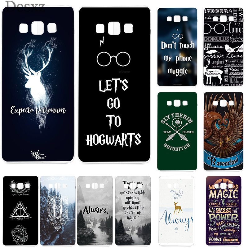Cover <font><b>HarryPotter</b></font> Dynamic Phone Case for Samsung Galaxy A5 A6 A8 Plus 2018 2017 J3 J5 J7 Shell Soft TPU image