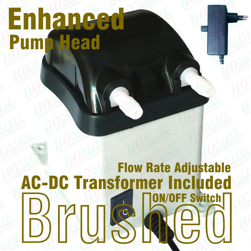 ФОТО 100~240Vac, 800ml/min Peristaltic Pump with Nylon made Exchangeable Pump Head and FDA approved PharMed BPT Peristaltic Tube