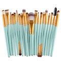 Moda 20 pcs pincéis de Maquiagem Make up Beleza cosméticos Fundação Sombra Em Pó Escova de Sobrancelha Kit de Higiene profissional