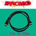 Лучшее качество низкой цене HDMI кабель 1 м/2 м/3 м/5 м/10 м использовать для проектор для мультимедийных для игры поддержка 1080 P Мужчинами