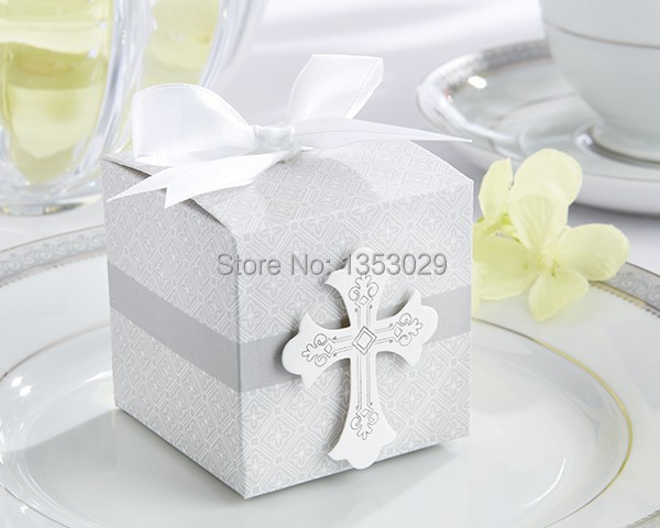 Free Shipping, 100 sets party Decorations Blessings Favor Box Wedding Gifts, On Sale!!!
