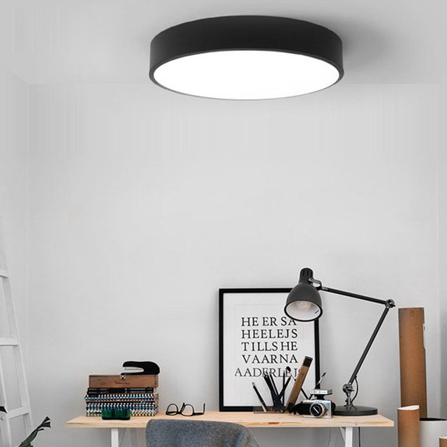 Online Shop Simple Bedroom Ceiling Light Designer Led Ceiling Lamp - Lamparas-techo-comedor