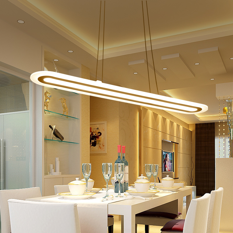 Led Modern pendant lights Fixtures Home Lighting Acrylic pendant lamp In The Dining Room Led lustres suspension luminaire 75w remote control modern led pendant lights for dining room restaurant suspension luminaire home lighting acrylic hanging lamp