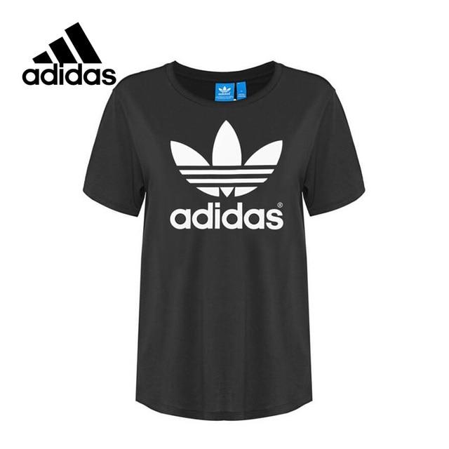 4644896fef New Arrival 2017 Original Adidas Originals BF TREFOIL TEE Women s T-shirts  short sleeve Sportswear
