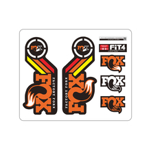 Mountain bike front fork sticker Fox FACTORY 40th Commemorative Edition fork decals bicycle Fork stickers