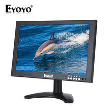 Eyoyo 10″ IPS HD 1920*1200 VGA Video Audio HDMI Monitor BNC USB With Remote HDMI Cable For CCTV DVR FPV Camera Built-In Speakers