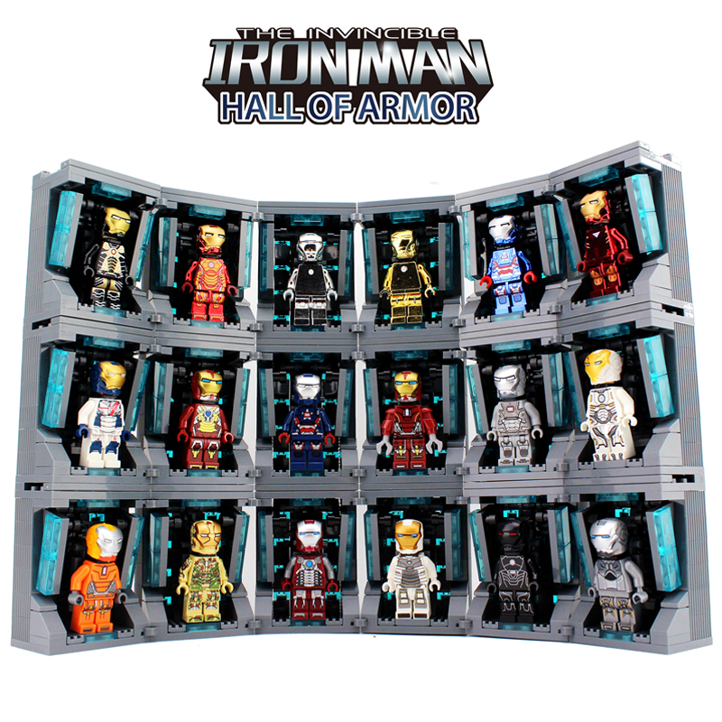 Marvel Avengers Iron Man Collection hall of armor Infinity