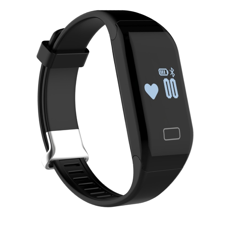 H3 Heart Rate Activity Tracker Smart Bracelet Fitness with Pedometer Calorie Sleep Monitor Sedentary Reminder for
