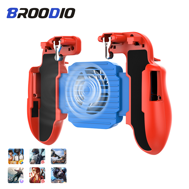 Gamepad For Pubg Game Controller For Mobile Phone Triggers Wireless Game Joystick Shooter Fire Button Joypad For IPhone Gamepads