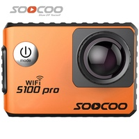 SOOCOO S100 Pro NTK96660 4K Wifi Sports Action Camera Touch Screen Built In Gyro With GPS