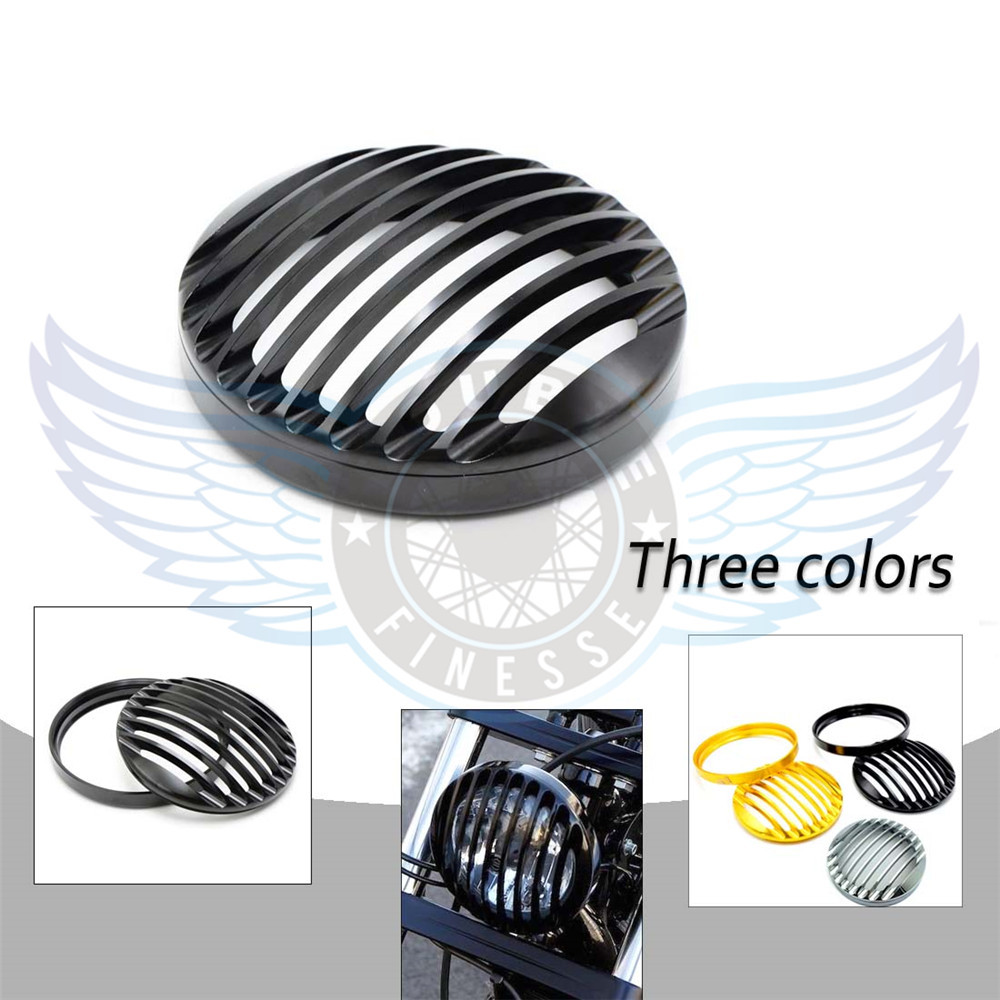 ФОТО black color motorcycle CNC front headlight grill cover For Harley XL883 2004 2005 2006 2007 2008 2009 2010 2011 2012 2013 2014