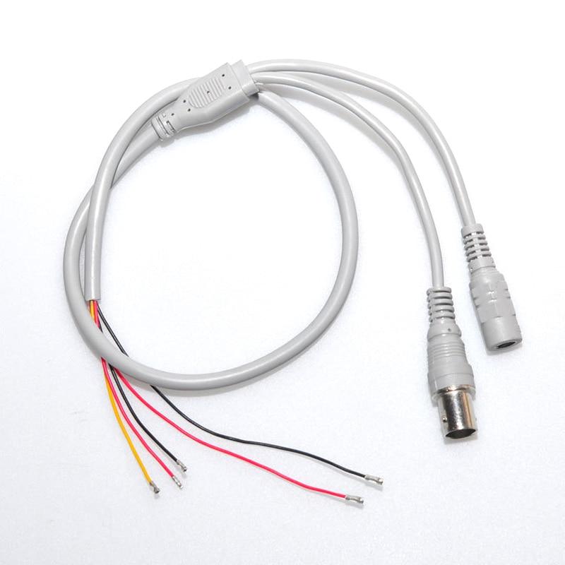 Puro Cobre CCTV BNC A Fono Clavija Cable Oro Conectores 5 m