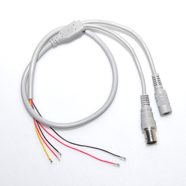 10PCS/Lot 5 Core Wire Five Pin Cable For CCTV Camera The Cable Use ...