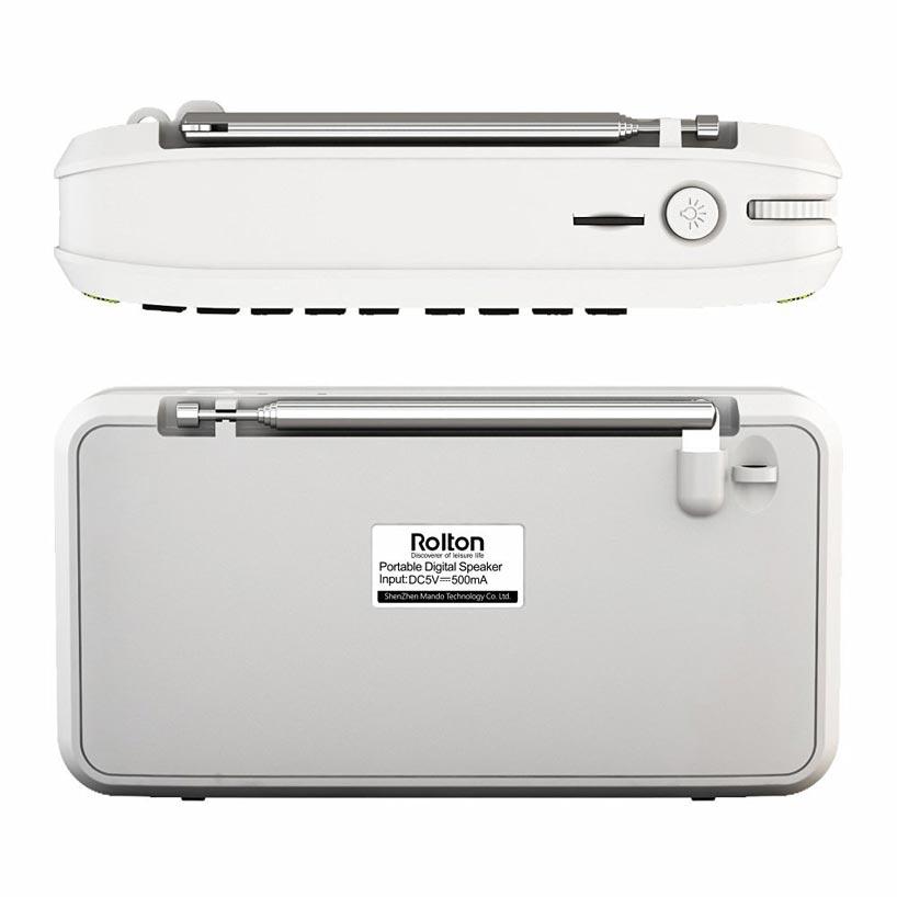 Prenosni stereo zvočniki Bluetooth Rolton E500 FM radio Clear Bass - Prenosni avdio in video - Fotografija 6