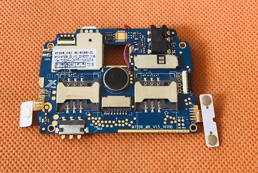 Utilisé carte mère D'origine 512 M RAM + 4G ROM Carte Mère pour JEEP Z6 IP68 MTK6572 Dual Core 3G GPS 4.0 Livraison gratuite