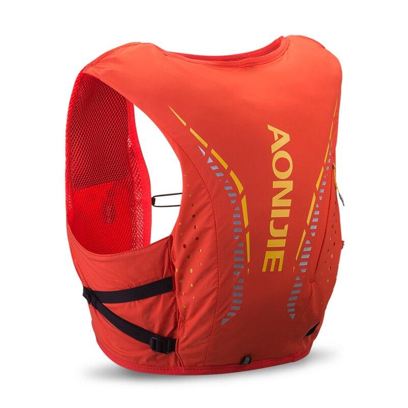 AONIJIE 10L sac à dos de peau avancé sac à dos d'hydratation sac à dos gilet harnais vessie d'eau randonnée Camping course Marathon - 2