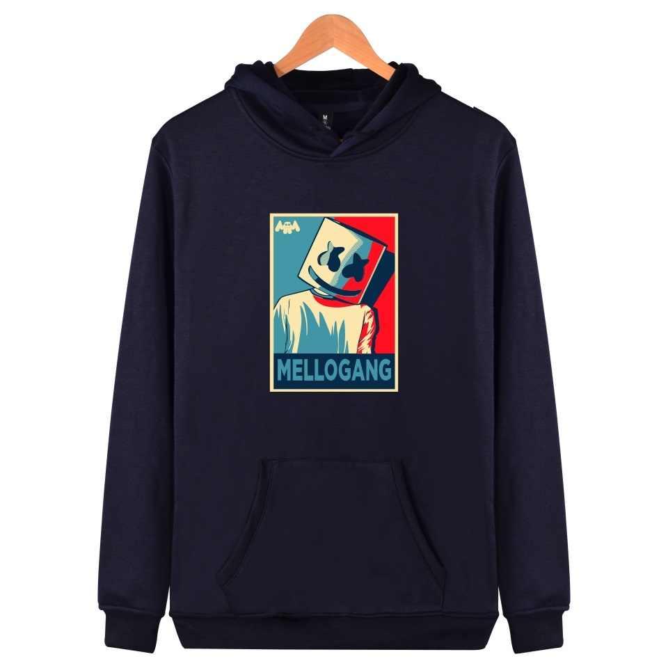 f576750a030 ... WEJNXIN Autumn Winter New Marshmello Face Hoodies Women Men Casual  Sweatshirt Sportswear Pullover Fleece Hooded Jacket ...