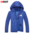 LKBEST 2017 New fashion spring thin solid men's jacket Windproof casual hooded Outerwear man Jacket Coat brand clothing (J03)
