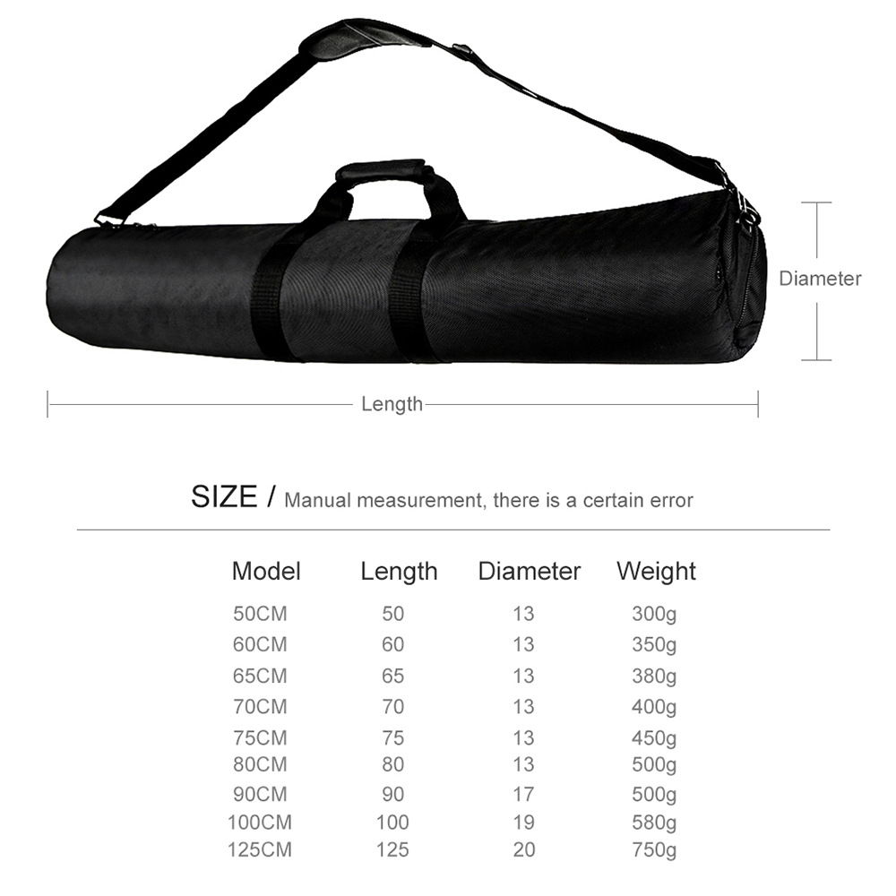 Accessories & Parts Clever New Professional Monopod Tripod Bag Camera Tripod Bladder Bag Shoulder Strap 55cm 60cm 65cm 70cm 75cm 80cm 100cm For Canon