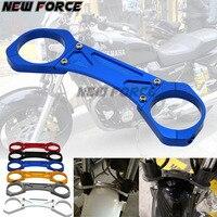 For YAMAHA ZRX1100 XJR1300 ZRX 1100 XJR 1300 BALANCE SHOCK FRONT FORK BRACE Motorcycle Accessories CNC Aluminum colors 02 08