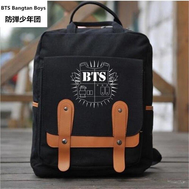 Professional Sale 2017 New Kpop Bts Bangtan Boys Jimin Jung Kook Suga V J-hope The Same Paragraph Fashion Casual Students Climbing Tourism Pocket Sales Of Quality Assurance