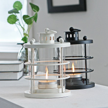 PINNY European Modern Simplicity Iron Candle Stand Romantic Metal Holder Lantern Candlestick For Wedding Centerpieces