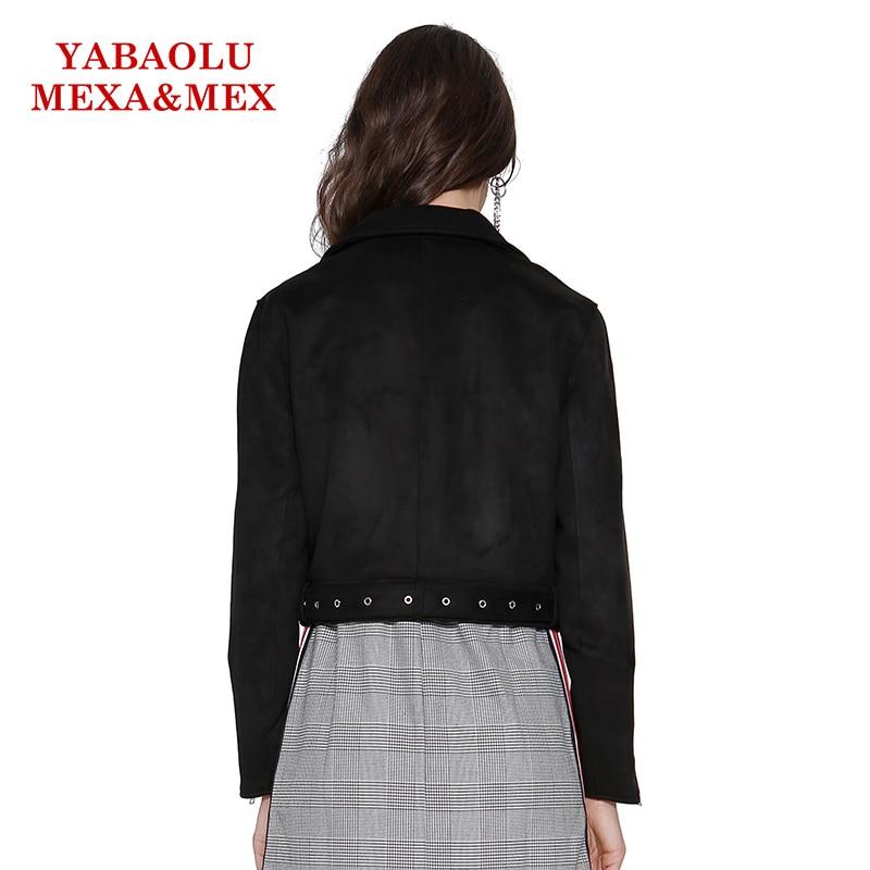 Noir Vestes Causalité Manteau Mode Éclair Veste Cuir Manteaux Dames En De Fermeture Faux Survêtement Pu Femmes gqw88p