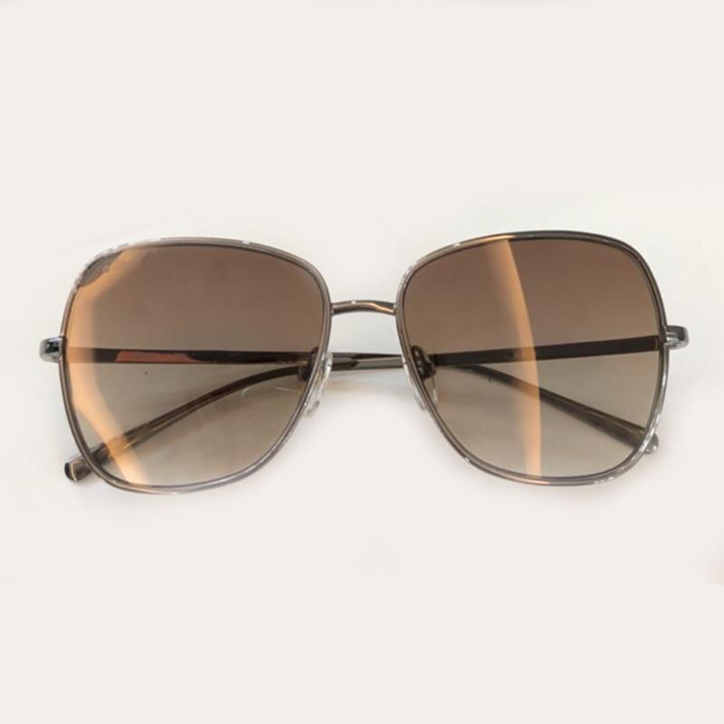 2 Box Neue Legierung Uv400 Hohe 1 Frauen Qualität no Rahmen Mit Sonnenbrille No Sunglasses Mode Marke Sunglasses Weibliche 2019 Platz Sunglasses 3 Designer no Objektiv Brillen qwz17Ya