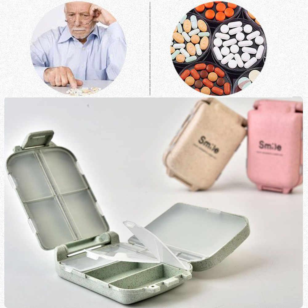 2019 новый список 6,5x10x3,5 см отделение travel kit соломинки Таблетки Медицина хранения разделение Уход Инструменты Горячая Распродажа #35
