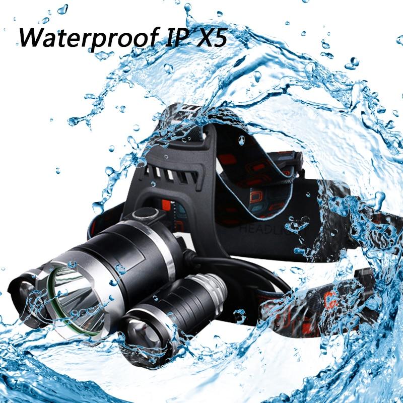 Reflektor LED Z20 Reflektor 9000 Lumenów chip 3x XML T6 super jasny - Przenośne oświetlenie - Zdjęcie 5