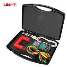 UNI-T UT253A 1200A Auto Range LCD Display Large Jaws Leakage Current Clamp Meters Clamp Leaker Voltmeter Meter w/RS232 Data Hold uni t ut220 2000a digital clamp meters measure multimeters auto range data hold lcd backlight resistance meters megohmmeter