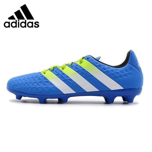 41bbf486768821 Nova Chegada Original Adidas ACE FG/AG Chuteiras dos homens Tênis em ...